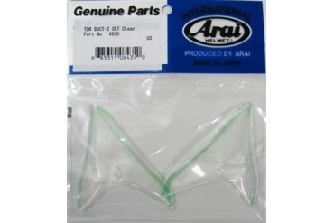 Arai GP-6 PED TDR Duct-2 Rear Vent Set Clear