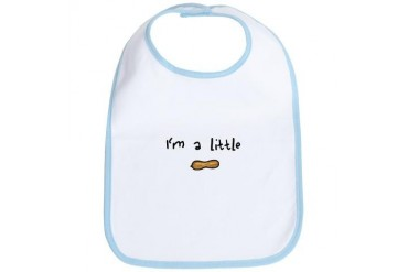 I'm a Little Peanut Baby Bib by CafePress