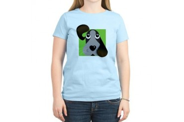 All Ears Cute Women's Light T-Shirt by CafePress
