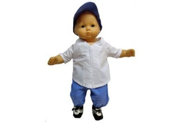 Boy Doll Clothes And Girl Dolls Too - Baseball Ready