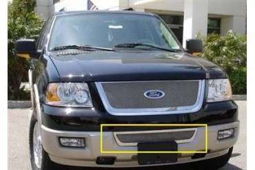 T-Rex Grilles Upper Class; Mesh Bumper Grille Insert 55590 Bumper Valance Grille Inserts