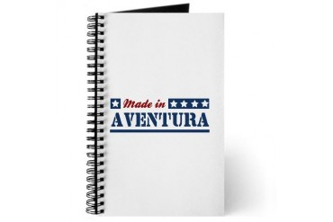 Made in Aventura Florida Journal by CafePress