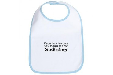 See my Godfather... Baby Bib by CafePress