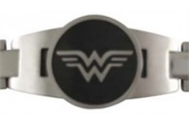 DC Comics Wonder Woman Symbol Stainless Steel Bracelet