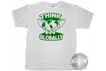 Pinky and the Brain Think Globally T-Shirt