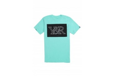 Mens Young & Reckless T-Shirts - Young & Reckless Core Logo Neon Light T-Shirt