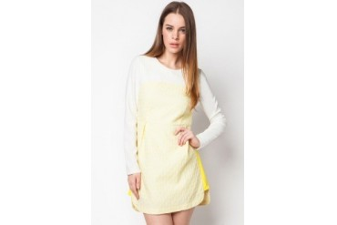 bread n butter Textured Front Dress