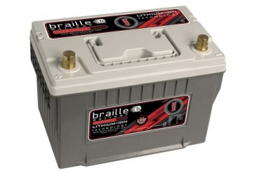 Braille Lithium Ion Intensity Deep Cycle Battery 1315 Amp 11 x 7 x 8 inch Right Positive BCI 34