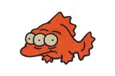 Simpsons Blinky Three-Eyed Fish Patch