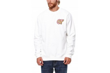 Mens Odd Future Hoodies - Odd Future Donut Crew Fleece