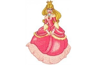 Sleeping Beauty Formal Pose Patch