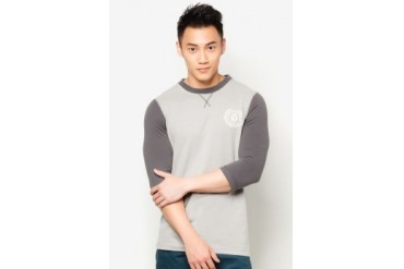 GymCollege Contrast Mid Sleeve T-Shirt