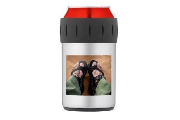 1801.JPG Thermos Can Cooler Art Thermosreg; Can Cooler by CafePress