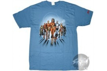 Marvel Comics Avengers Walk Graphitti Designs T-Shirt