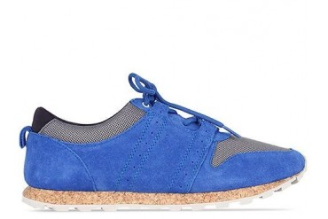 Clae Mills in Royal Suede Charcoal Mesh size 7.0
