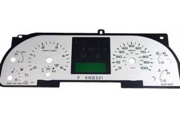 US Speedo Daytona Edition; Color Replacement Gauge Face F2500542D Instrument Panel Cover