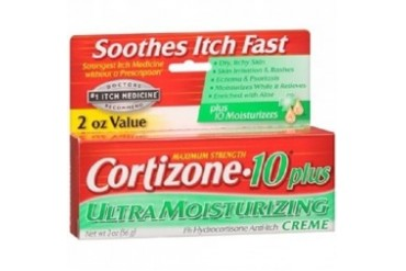 Cortizone 10 Plus Maximum Strength Ultra Moisturizing Creme 2 oz Tube