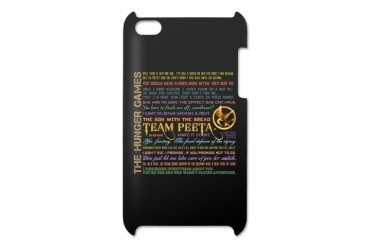 Team Peeta Quotes iPod Touch 4 Case