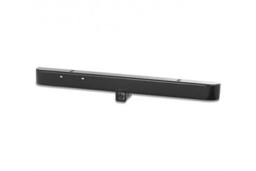 Warrior Standard Front Bumper with 2 Inch Receiver in Black Powder Coat 490 Front Bumpers