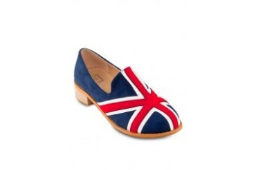 Te Chi-Chi England Flag Loafers