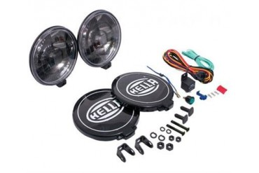 Hella 500 Series Black Magic 6.5 Inch Light 005750991 Offroad Racing, Fog & Driving Lights