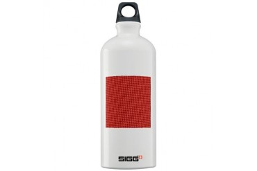 Red Christmas Pattern Holiday Sigg Water Bottle 1.0L by CafePress
