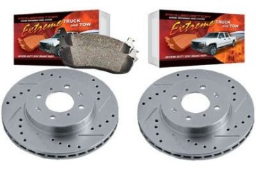 2006-2009 GMC Envoy Brake Disc and Pad Kit Powerstop GMC Brake Disc and Pad Kit K2084-36 06 07 08 09