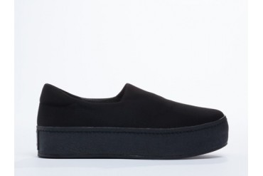 Opening Ceremony Slip On Platform Sneaker in Black size 8.0