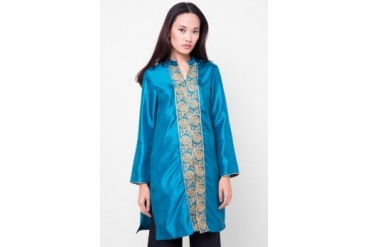 Chanira Long Blouse Shantung
