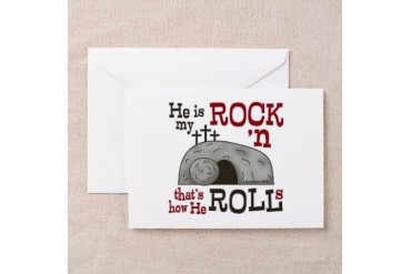 1 Cor 15:3-4 Religion Greeting Card by CafePress
