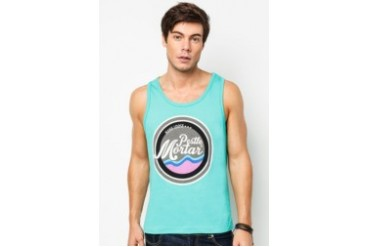 Pestle & Mortar Retro Logo Singlet