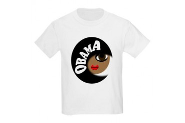 Obama Buff Kids Light T-Shirt
