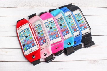 Water Resistant Cell Phone Waist Pouch 6 Colors!
