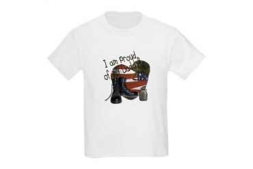 Proud of my Daddy Kids T-Shirt