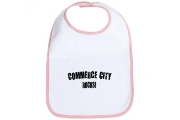 Commerce City Rocks Colorado Bib by CafePress