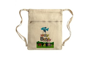 Happy Birthday Sack Pack Funny Cinch Sack by CafePress