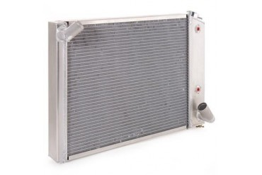Be Cool Dual Core Radiator Module Assembly for GM V8 Engines with Automatic Transmission 83220 Radiator