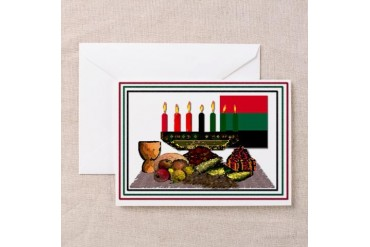 Kwanzaa Occasions Greeting Cards Pk of 10 by CafePress