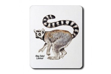 Ring-Tailed Lemur Animals Mousepad by CafePress