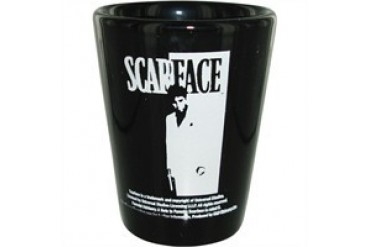 Scarface Silhouette Shot Glass
