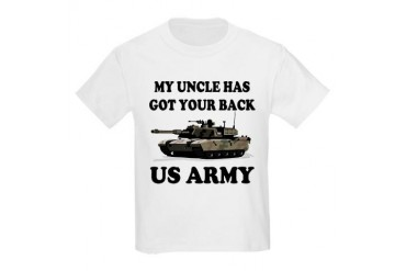 My Uncle Has Got Your Back Kids Light T-Shirt