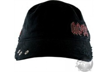 ACDC Canon Stitch Embroidered Flexible Roughed-up Hat