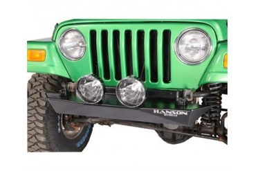 Hanson Offroad Stubby Bumper in Black Powder Coat RC41102-P Front Bumpers