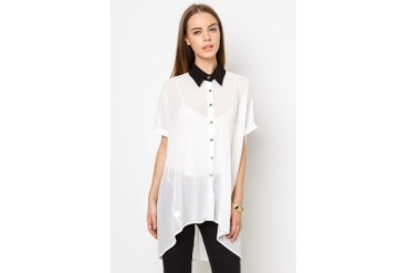 Another Oversized Collar Top