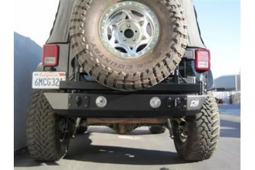 PUREJEEP Rear Stubby Bumper with Fog Light Mounts PJ2004 Rear Bumpers