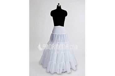 Women Nylon/Tulle Netting Floor-length 1 Tiers Petticoats (037004072)