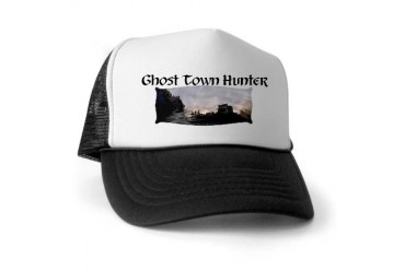 Ghost Town Hunter Hunter Trucker Hat by CafePress