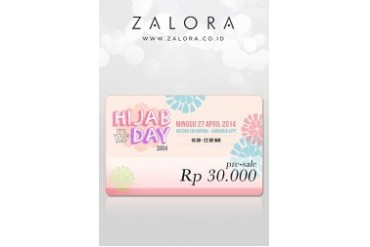 Online Ticket Hijab Day 2014