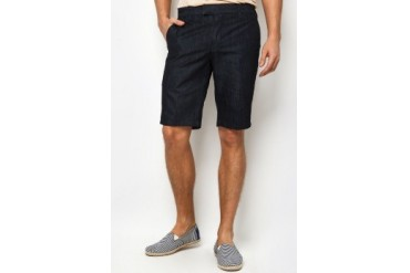 Electro Denim Lab Slim Denim Bermuda Shorts