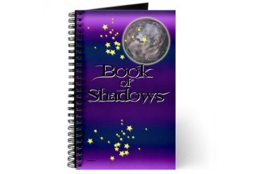 Book Of Shadows Spiritual Journal by CafePress